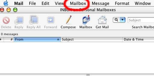 how to create a rule in mac mail