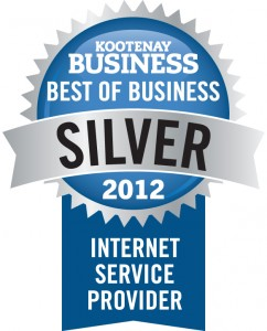 Secure by Design - Best Internet Service Provider - 2012 Silver Winner